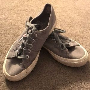 Grey Superga Sneakers